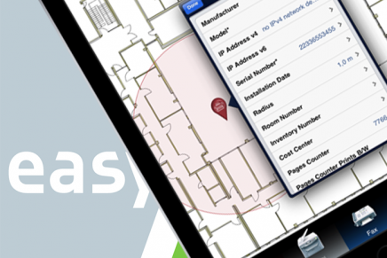 EasyAsset: ein neues Facility Management Tool (iPad App & Server-Backend)